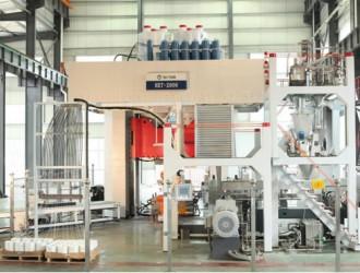 全自动长纤维增强热塑性复合材料(LFT-D)模压生产线