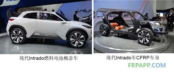 韩国现代CFRP新能源汽车案例