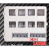 插卡玻璃钢电表箱DJ-DQ-JX8B--明装式