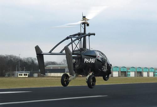 全球首款复合材料飞行摩托车 10分钟变形旋翼飞机