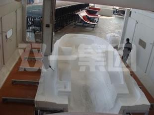 游艇壳体模具