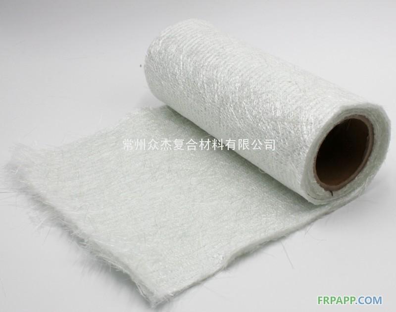 玻璃纤维缝编织物--双短切夹芯毡