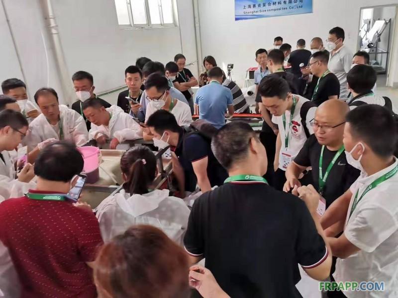 2019年复合材料RTM真空闭模工艺实践操作培训班 实况掠影(9月6-8日)