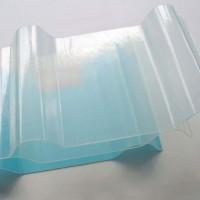 阳光板透明frp玻璃钢阳光房雨棚板采光板中空板采光瓦