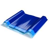 玻璃钢采光瓦加厚透明板种植大棚板材